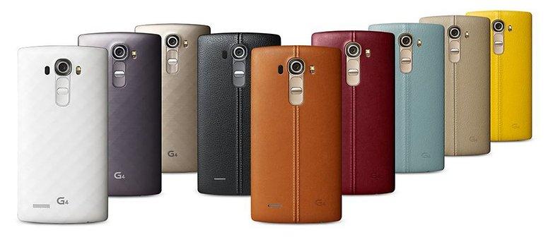 LG G4 Couleurs
