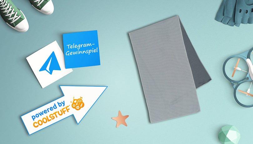 Das Telegram Gewinnspiel: Gewinne eines von drei Kühlhandtüchern