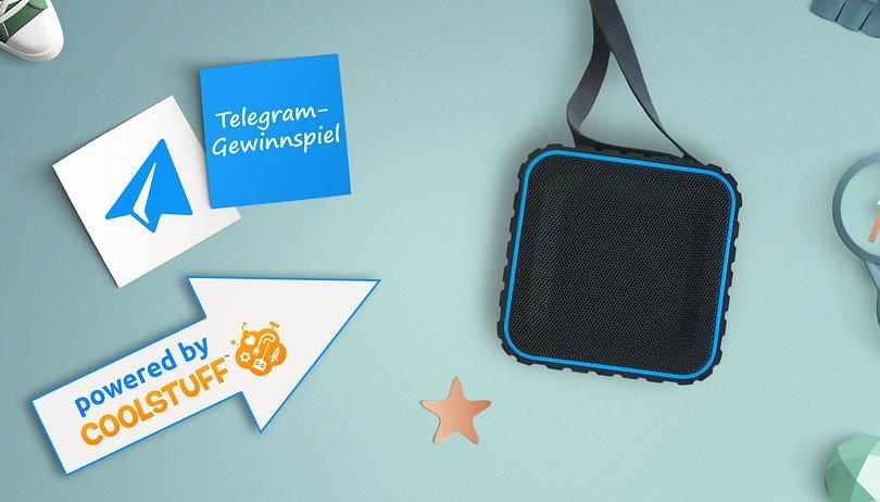 Das Telegram Gewinnspiel: Gewinne einen wasserdichten Speaker