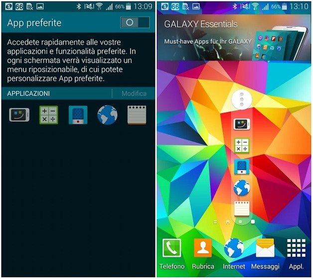 S5 app preferite