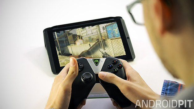 nvidia shield tablet android controller half life 2