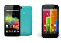 Moto G vs Wiko Rainbow: sfida tra due smartphone di fascia media