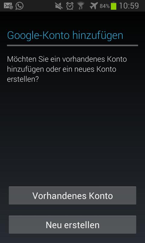 Google Play Store Anmeldung Nicht Möglich