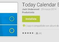 Today Calendar Beta, il calendario Android migliorato