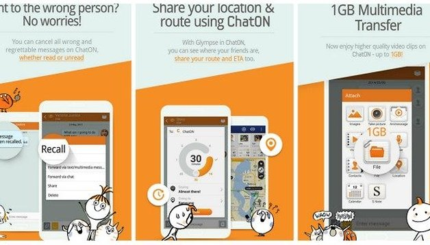 Samsung updates ChatON with the ability to delete sent messages