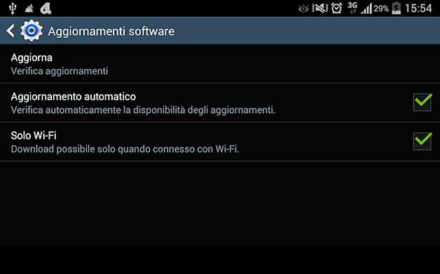 aggiornamenti firmware note 8 0
