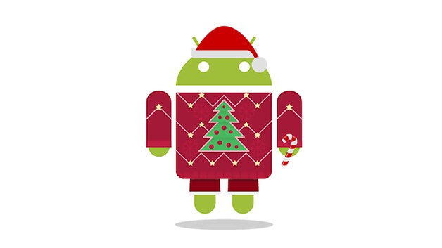 android christmas teaser