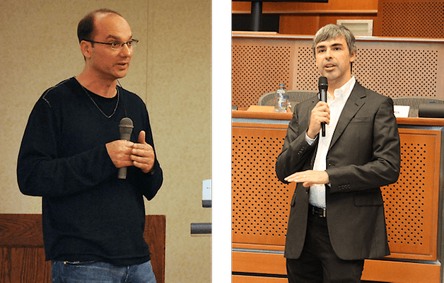 andy rubin larry page