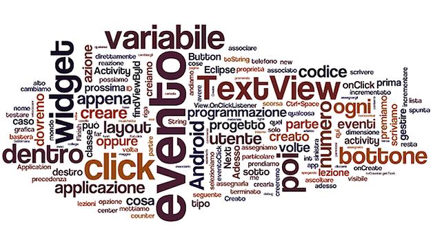 Impara a programmare in Android - evento click