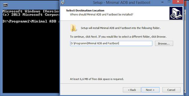 minimal adb fastboot installer