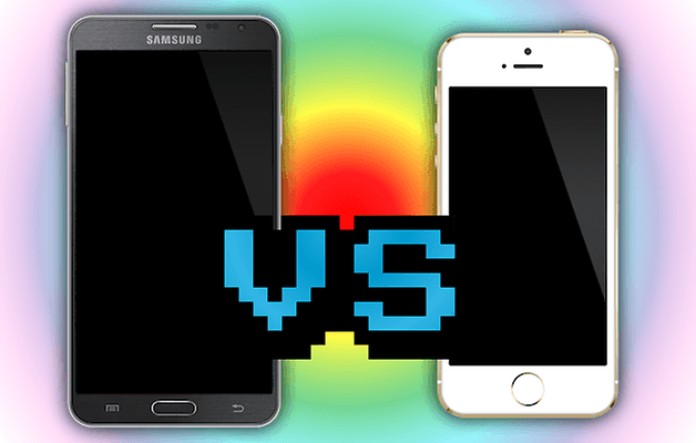 note3 vs iphone5s teaser