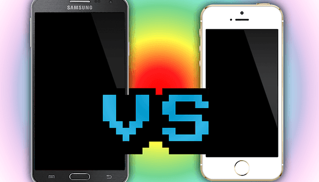 Galaxy Note 3 vs iPhone 5S: chi è il migliore?