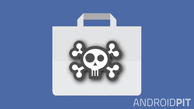play store app fail skull