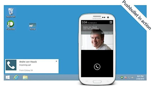 Pushbullet: reply to text messages from your PC using any SMS app