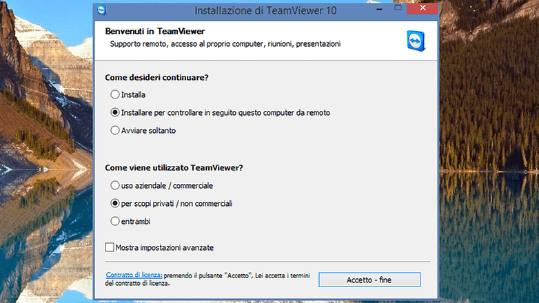 setup team viewer