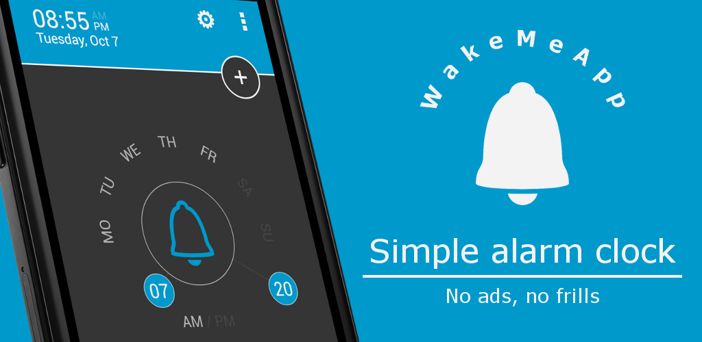 App] [Free] WakeMeApp - The simple alarm clock | AndroidPIT Forum
