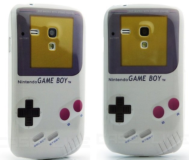 Gameboy Design Kunststoff Skin