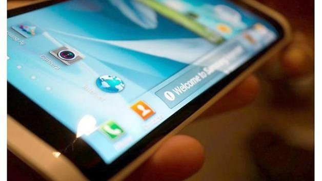 Samsung Galaxy note 4 curved display