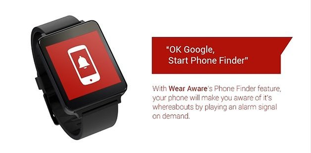 Wear Aware Phone Finder