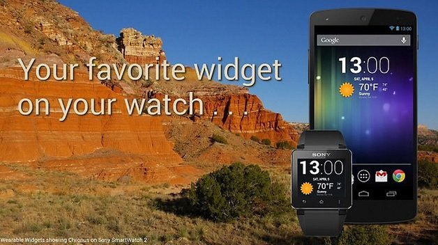 Wearable Widgets apps