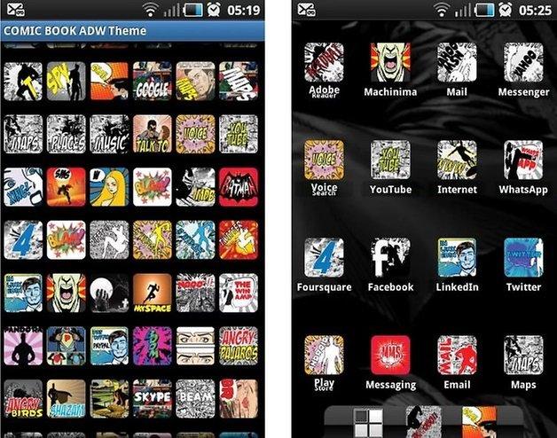 comic book awd theme