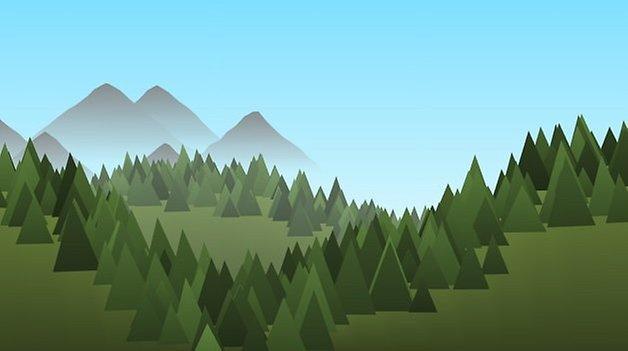 forest live wallpaper