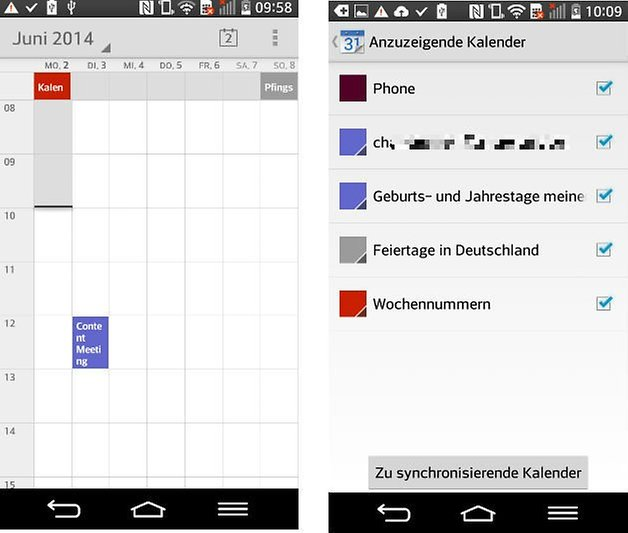 interface google kalender google