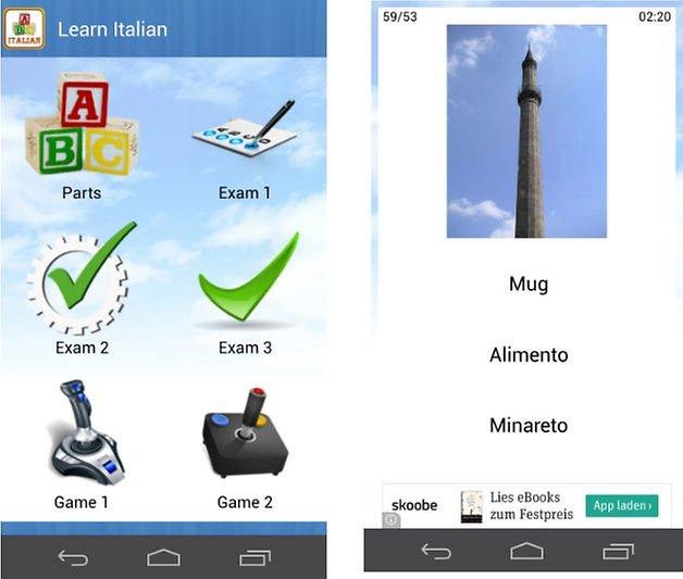 italienisch lernen app