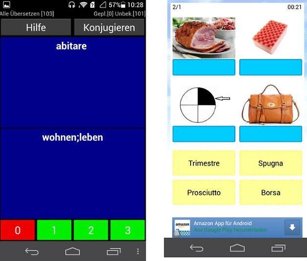 italienischer verb trainer app