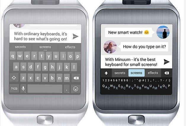 minuum keyboard smartwatch