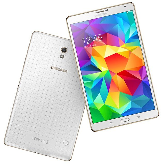 samsung galaxy tab s 804 front back