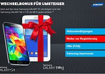 Samsung-Deal: Auf Galaxy S5 umsteigen und Galaxy Tab 3 7.0 gratis erhalten [UPDATE]