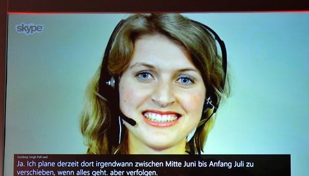 Skype Translator: real-time translations in video calls by the end of 2014