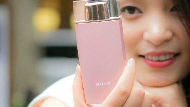 sony selfie phone perfume teaser