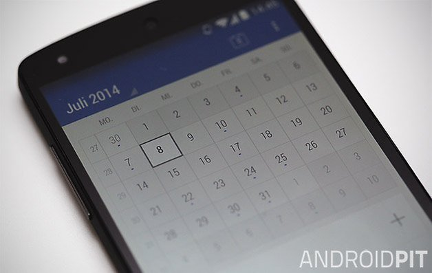 today calendar nexus 5