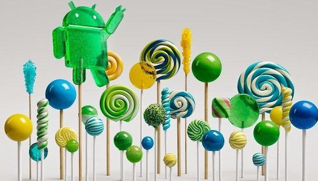 Android 5.0 Lollipop ist gestartet