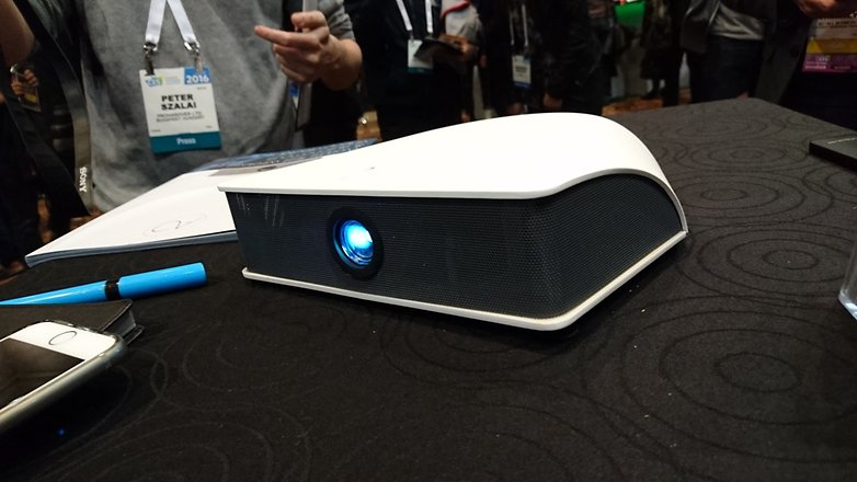 aio beamer ces2016 front