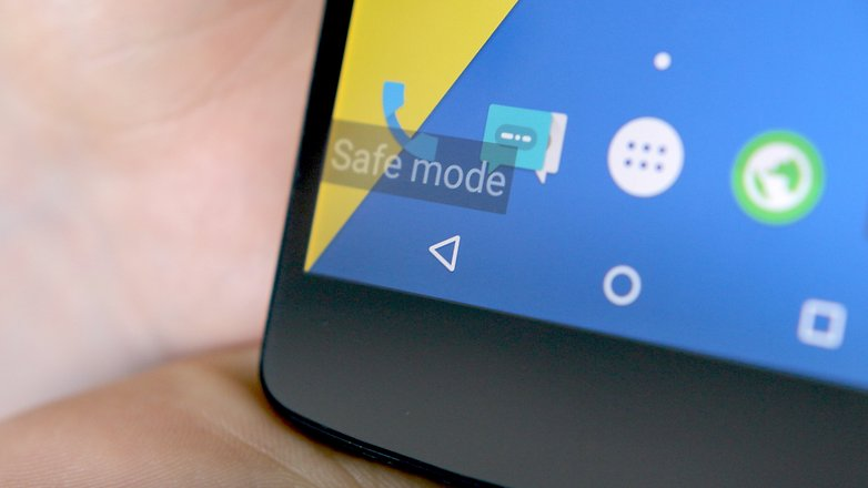 android safe mode hero