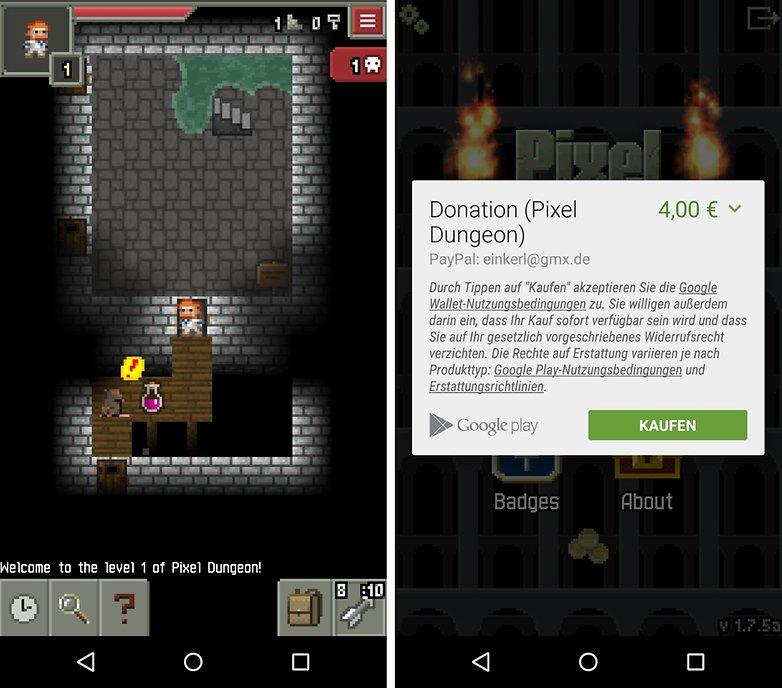 pixel dungeon de