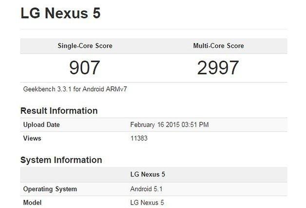 android 51 nexus 5