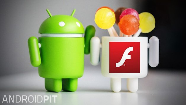 android lollipop flash player