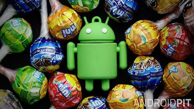 android lollipop teaser w