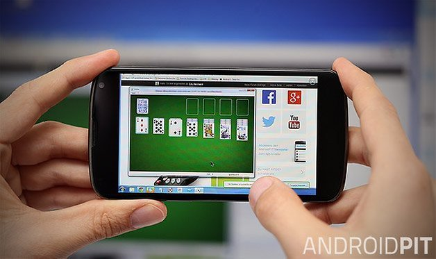 android remote desktop solitaire