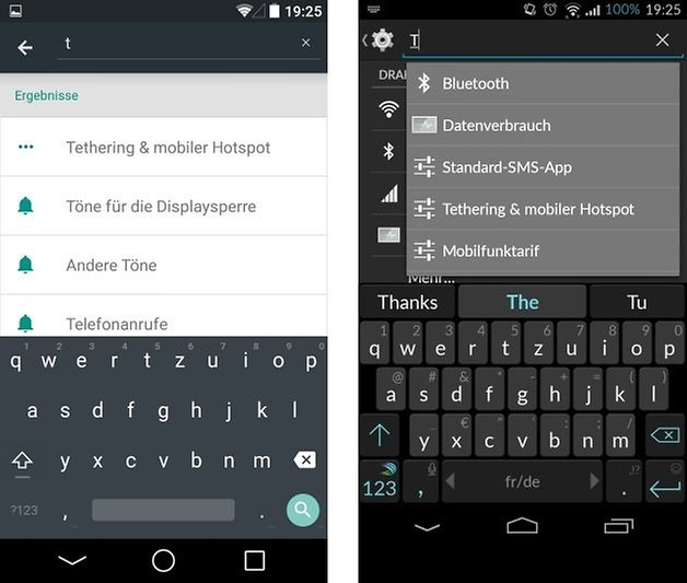 android l cyanogenmod setting search