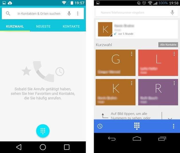 android l kitkat dialer