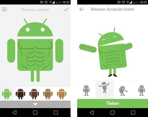 androidify share de