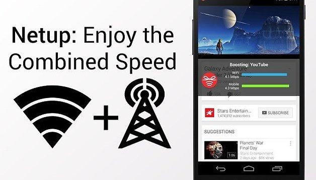 Netup: l'app progettata per velocizzare la connessione