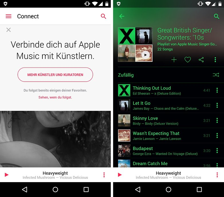 apple music connect de