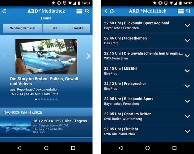 ard mediathek android app