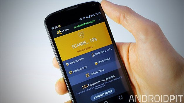 avast android nexus 4 teaser